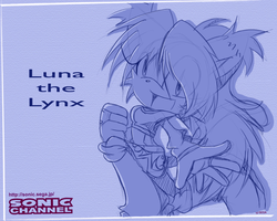 Sonic Channel Luna by Shontiachaosmaster