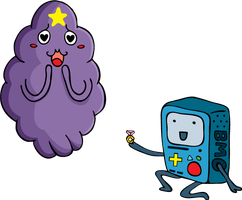 LSP and BMO by Jasperideon