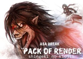 shingeki no kiojin render pack by asabreak