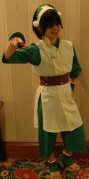 Toph Bei Fong - AUSA '12 by Wingedisis16