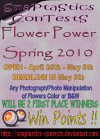 Flower Power 2010 Contest by tripptaylor
