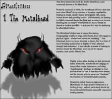 MusiCritters - The Metalhead by Trellia