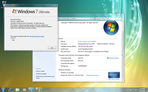 Windows 7 RTM Activated? by standbyblizzard