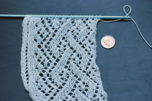 Knitted Lace: Simple Braid by kalany