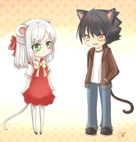 Cat and Mouse by neruteru