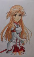 Asuna by MargaHeartfilia
