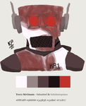 Limited palette: Donovan by robot-star693