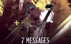 Seven Messages CD Artwork Template by loswl