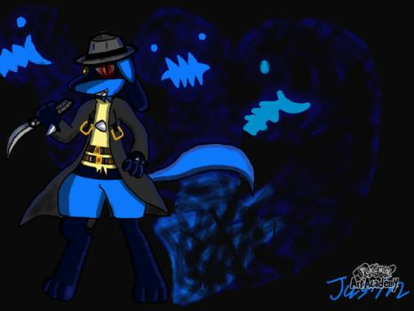 Blazblue X Pokemon, Hazama The Lucario! by XetaJTS