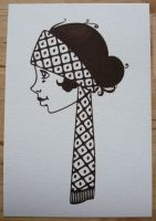 Josephine the 1920's Girl by minkee