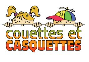 Couettes et Casquettes daycare logo by CaroRichard