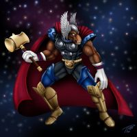 Beta Ray Bill by DragonosX