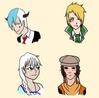 Cdr Headshots by FoxChimer42