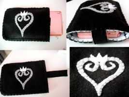 Kingdom Hearts 3DS Case by lkcrafts