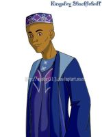 Kingsley Shacklebolt-Avatar013 by HogwartsArt
