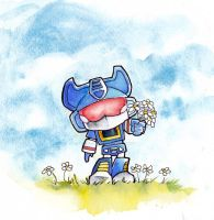 Soundwave Gives You Flowers by The-Starhorse