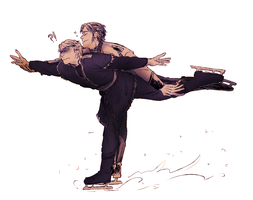 hans and kristoff by charupinn