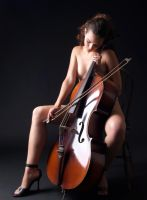 Sensual Musican - The Cellist by neliajb