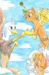 Silver Quill and Gabriel by CaliforniaHunt24