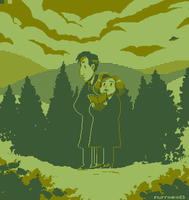 X files Pixel by Super-Cute