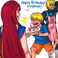 Uzumaki Birthday by starchiishio