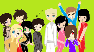 Ninjago Group Photo by K0MPY