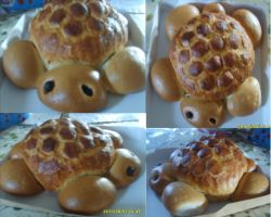 Bread Turtle!!!!!!! by Perianth5