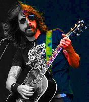 Dave Grohl : Acoustic by Blinding-Sun