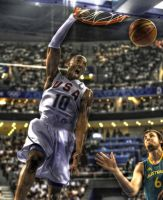 Kobe Bryant Dunk - HDR by AfroAfrican