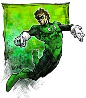 Green Lantern by johjames