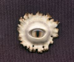 Antler Eye Pendant 3 by DonSimpson