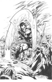 Shadowman Cover: Diego Bernard by boysicat