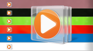 Media Player Icon Any Color (or transparent?!?) by Phelipefox