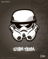 MrAfro71 - Storm Troopa by jpnunezdesigns