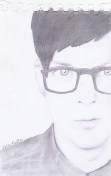 Phil Lester sketch by FunGhoulGurl