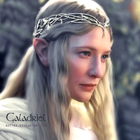 Cate Blanchett as Galadriel by Kot1ka