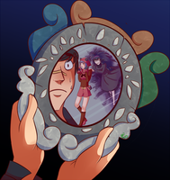 [Commission] - Mirror Mirror On The Wall by Riboo