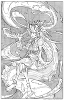 FILIA_SKULLGIRLS by DRAKEFORD