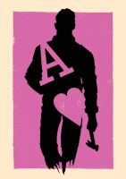 Playing Card - Ace Of Hearts - Drive by LeeAshton