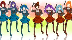CR MB: DokiDokiDevils GANGNAMSTYLE by linfang25