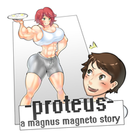 Proteus:  Growth  Patreon Story COVER image! by MagnusMagneto