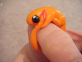 curled up Charmander ring by minecraftfox