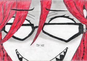 Grelle's Crazy Face by BarberGirl674