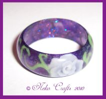 + Gothic Rose Band + by neko-crafts