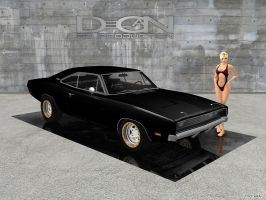 Dodge Charger RT - Custom v2 by DecanAndersen