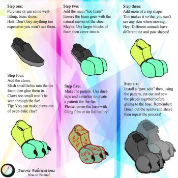 Foot Tutorial by Aurora-Fabrications