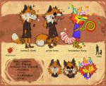 KamFox Ref Sheet by Kam-Fox