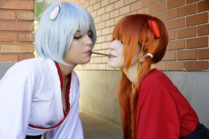 Pocky game by AkaneSuzumiya