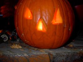 My Brother's Pumpkin 2 by Flame22