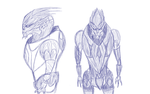 Quick Turian Sketch by Navid-Navesto